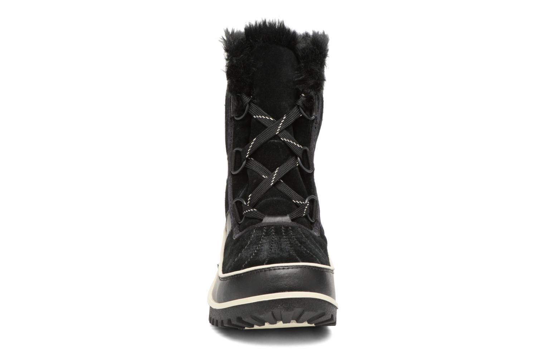 Sportschuhe Sorel Tivoli II schwarz schuhe getragen
