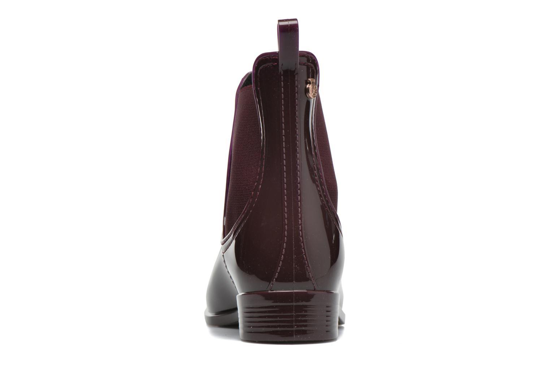 Bottines et boots Lemon Jelly Comfy Bordeaux vue droite