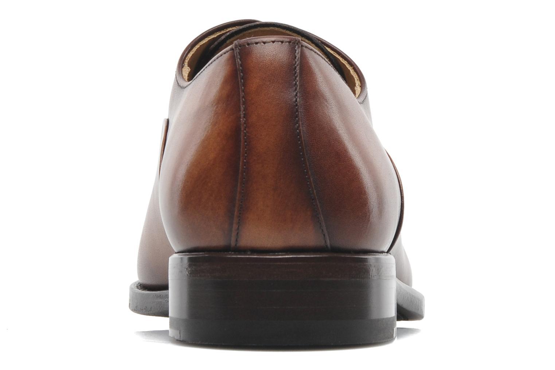Scarpe con lacci Marvin&Co Luxe Weloofu - Cousu Goodyear Marrone immagine destra