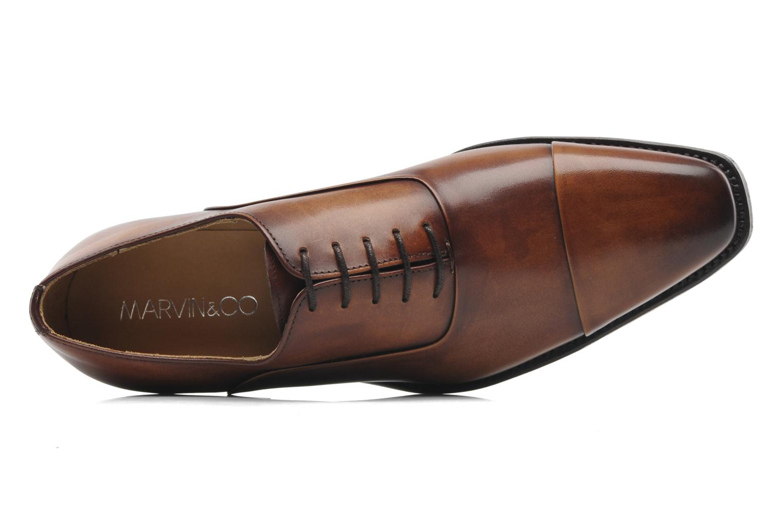 Scarpe con lacci Marvin&Co Luxe Weloofu - Cousu Goodyear Marrone immagine sinistra