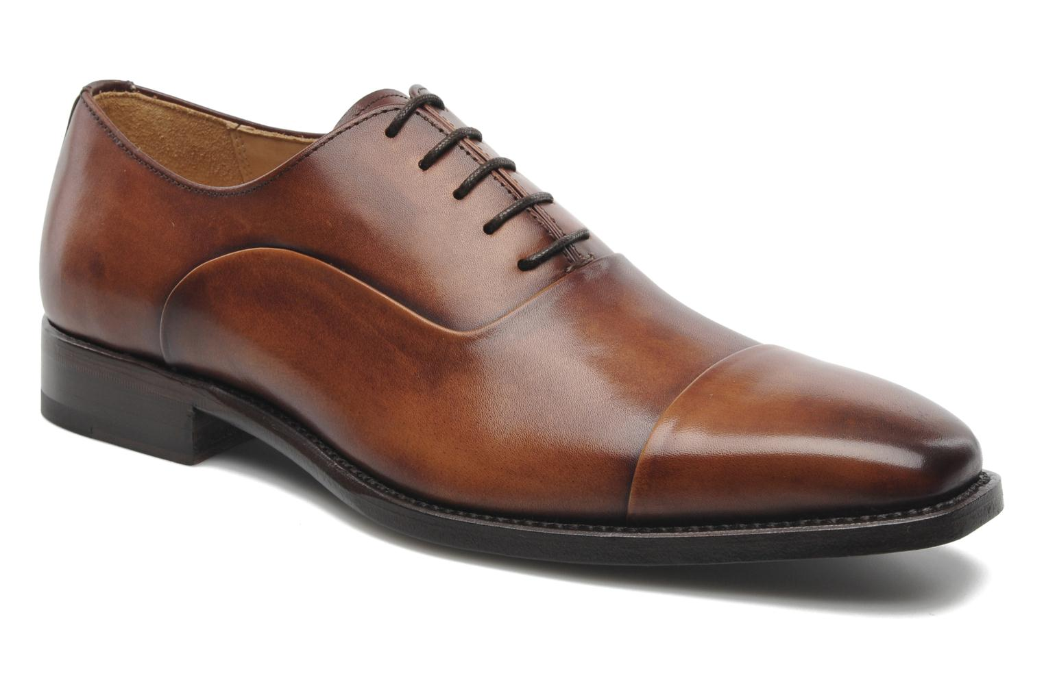 Marvin&Co Luxe Weloofu - Cousu Goodyear (Marron) - Chaussures à lacets chez Sarenza (190577)