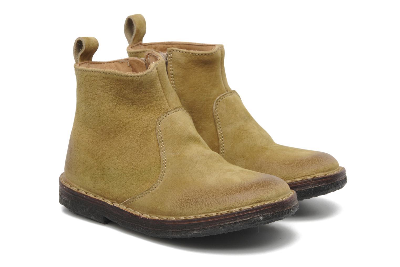 Bottines et boots PèPè Marinella Jaune vue 3/4