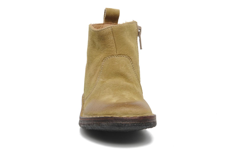 Bottines et boots PèPè Marinella Jaune vue portées chaussures