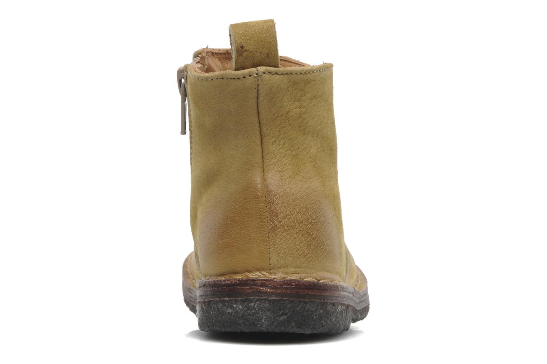 Bottines et boots PèPè Marinella Jaune vue droite