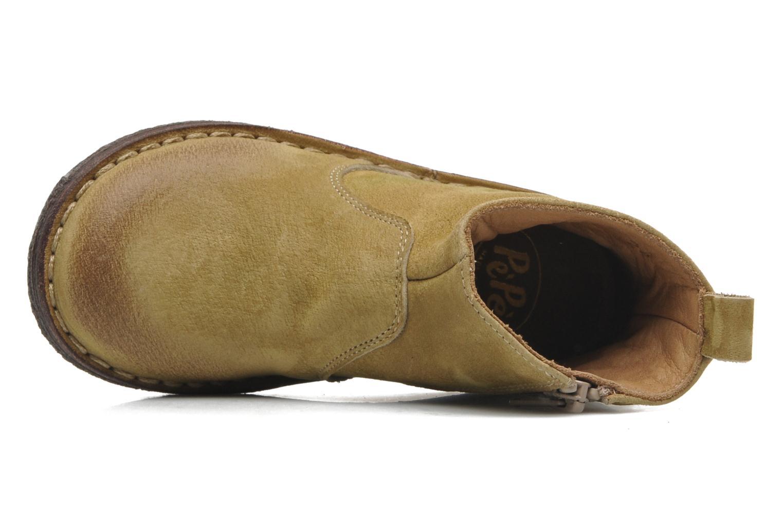 Bottines et boots PèPè Marinella Jaune vue gauche