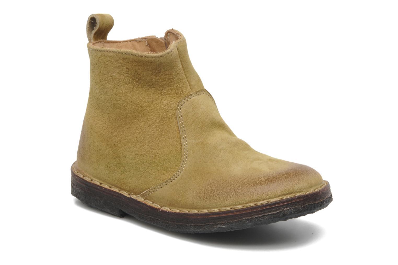 Bottines et boots PèPè Marinella Jaune vue détail/paire