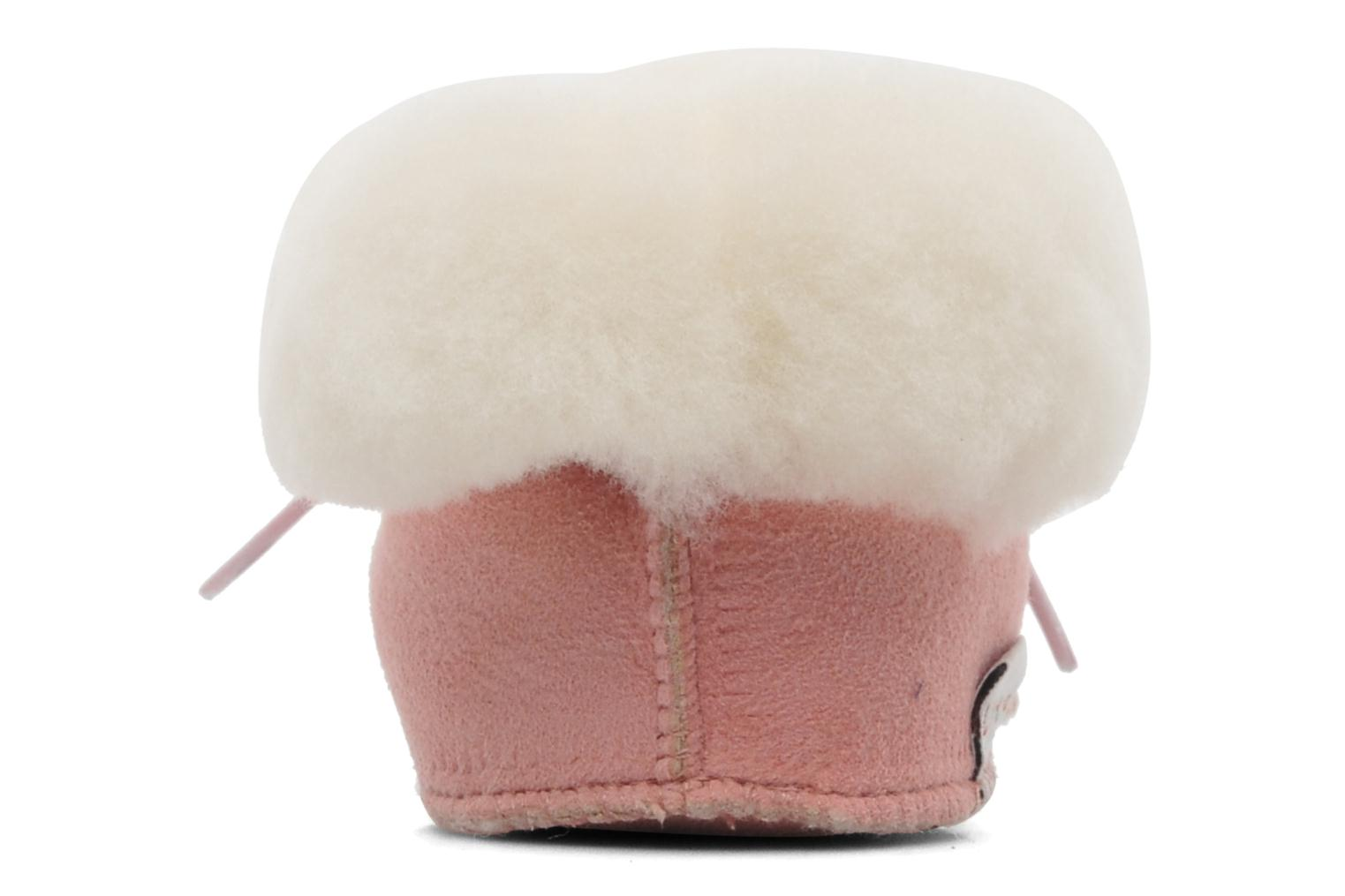 Chaussons Little Mary Bb Polaire Rose vue droite