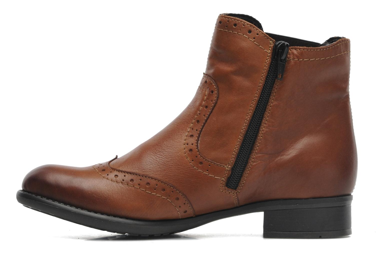 Bottines et boots Remonte Carlla R6470 Marron vue face