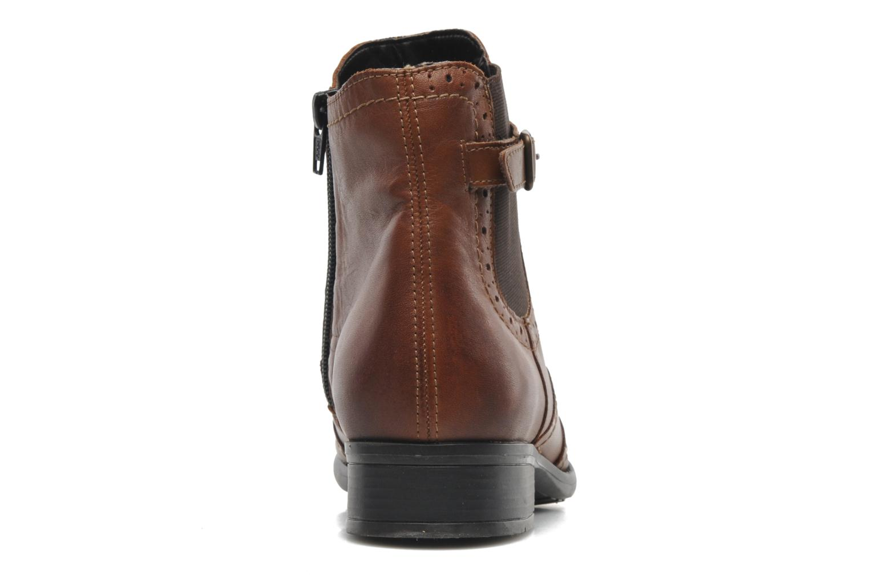 Bottines et boots Remonte Carlla R6470 Marron vue droite