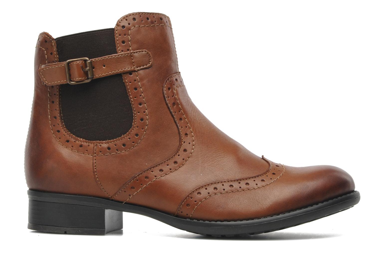 Boots en enkellaarsjes Remonte Carlla R6470 Bruin achterkant