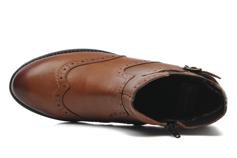 Boots en enkellaarsjes Remonte Carlla R6470 Bruin links