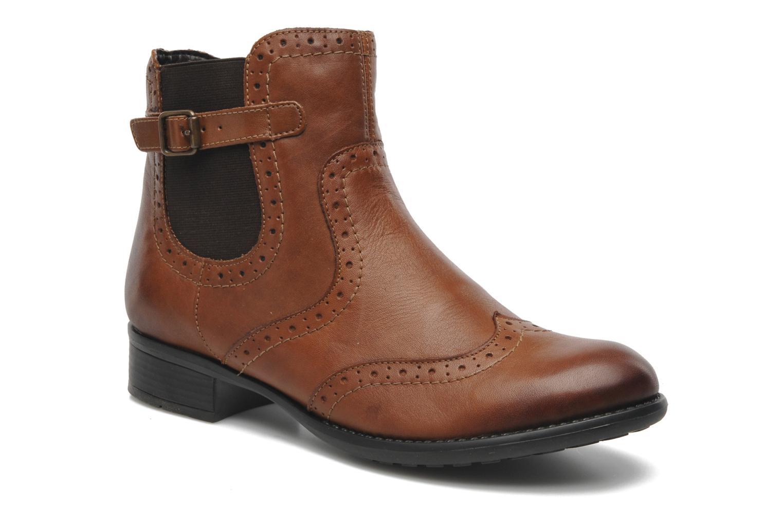 Boots en enkellaarsjes Remonte Carlla R6470 Bruin detail