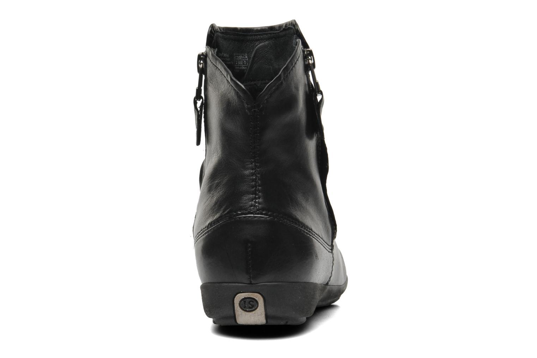 Bottines et boots Josef Seibel Faye 05 Noir vue droite