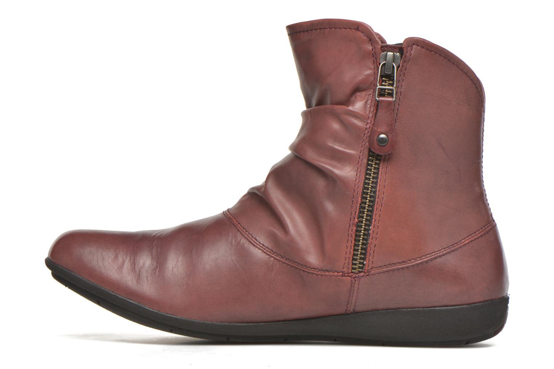 Bottines et boots Josef Seibel Faye 05 Rouge vue face