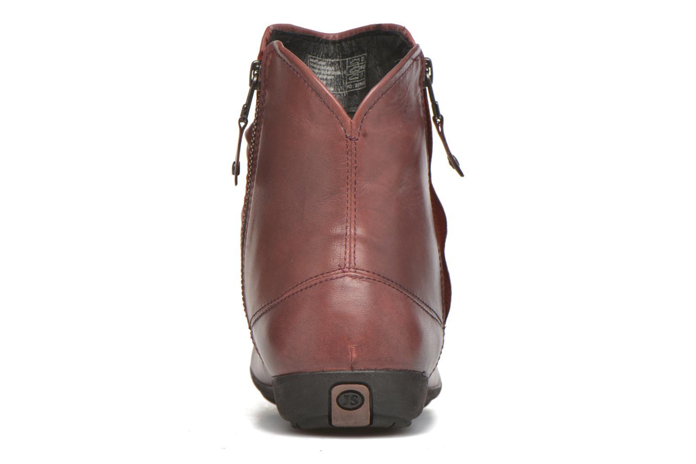 Boots en enkellaarsjes Josef Seibel Faye 05 Rood rechts