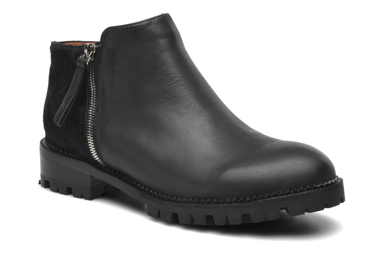 Boots en enkellaarsjes Jeffrey Campbell Ruby Zwart detail