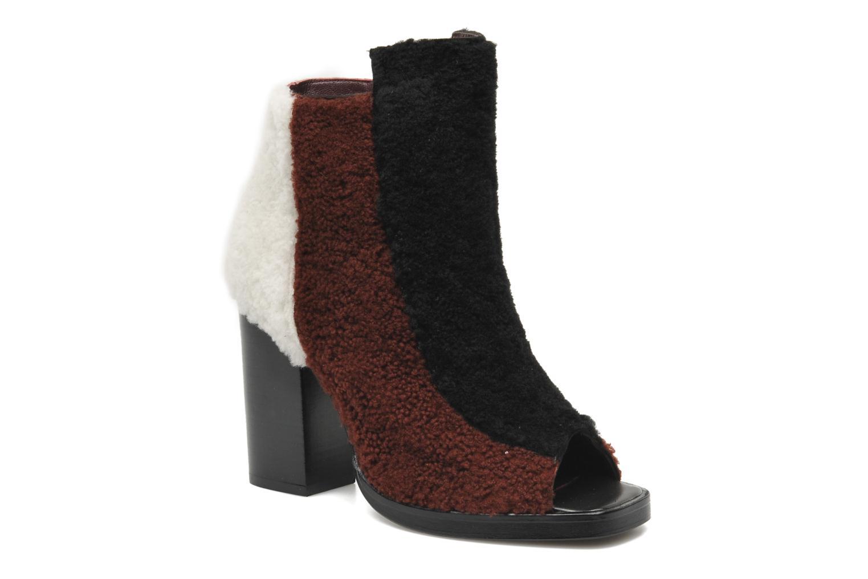 Stiefeletten & Boots Opening Ceremony Elise open toe bootie weinrot detaillierte ansicht/modell