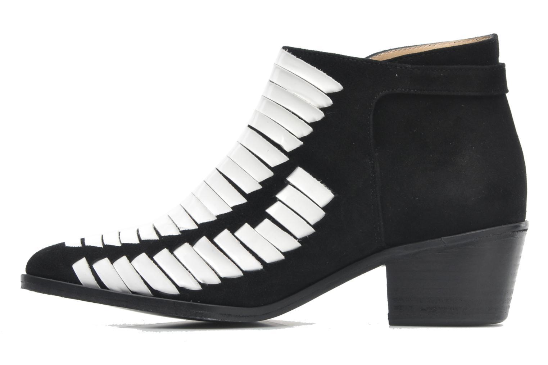 Stiefeletten & Boots MySuelly Robert velours mehrfarbig ansicht von vorne