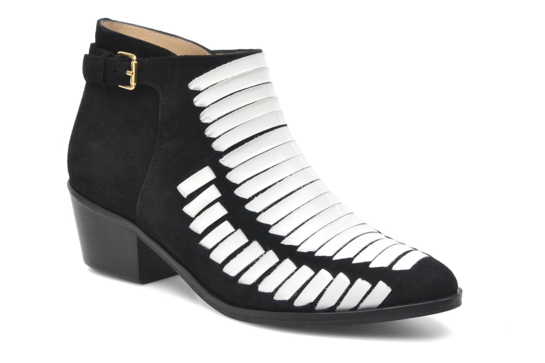 Bottines et boots MySuelly Robert velours Multicolore vue détail/paire