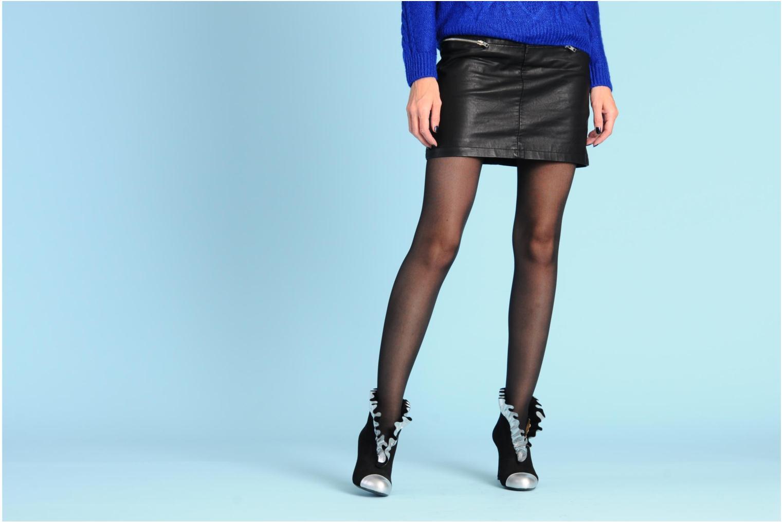 Bottines et boots MySuelly Lola froufrou Bleu vue bas / vue portée sac