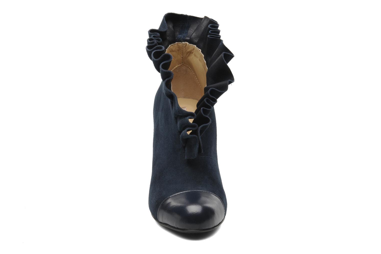 Bottines et boots MySuelly Lola froufrou Bleu vue portées chaussures