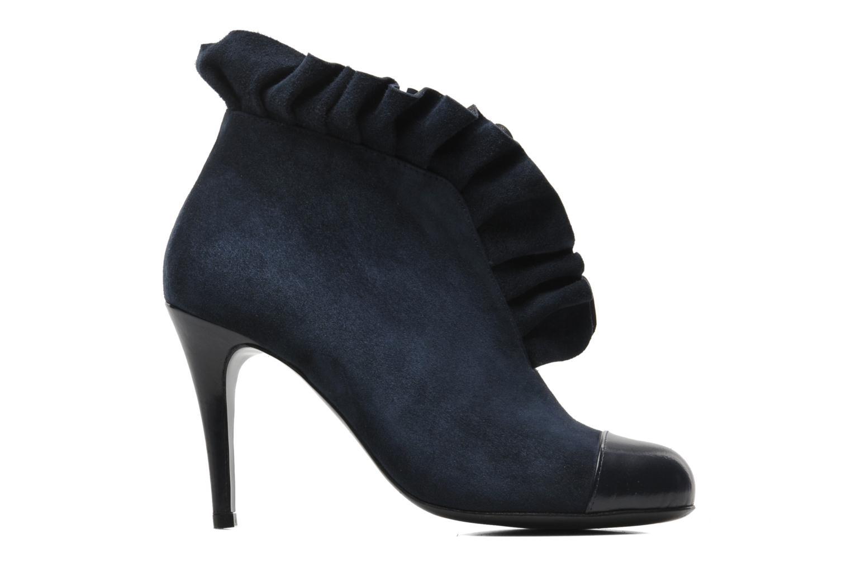 Bottines et boots MySuelly Lola froufrou Bleu vue derrière