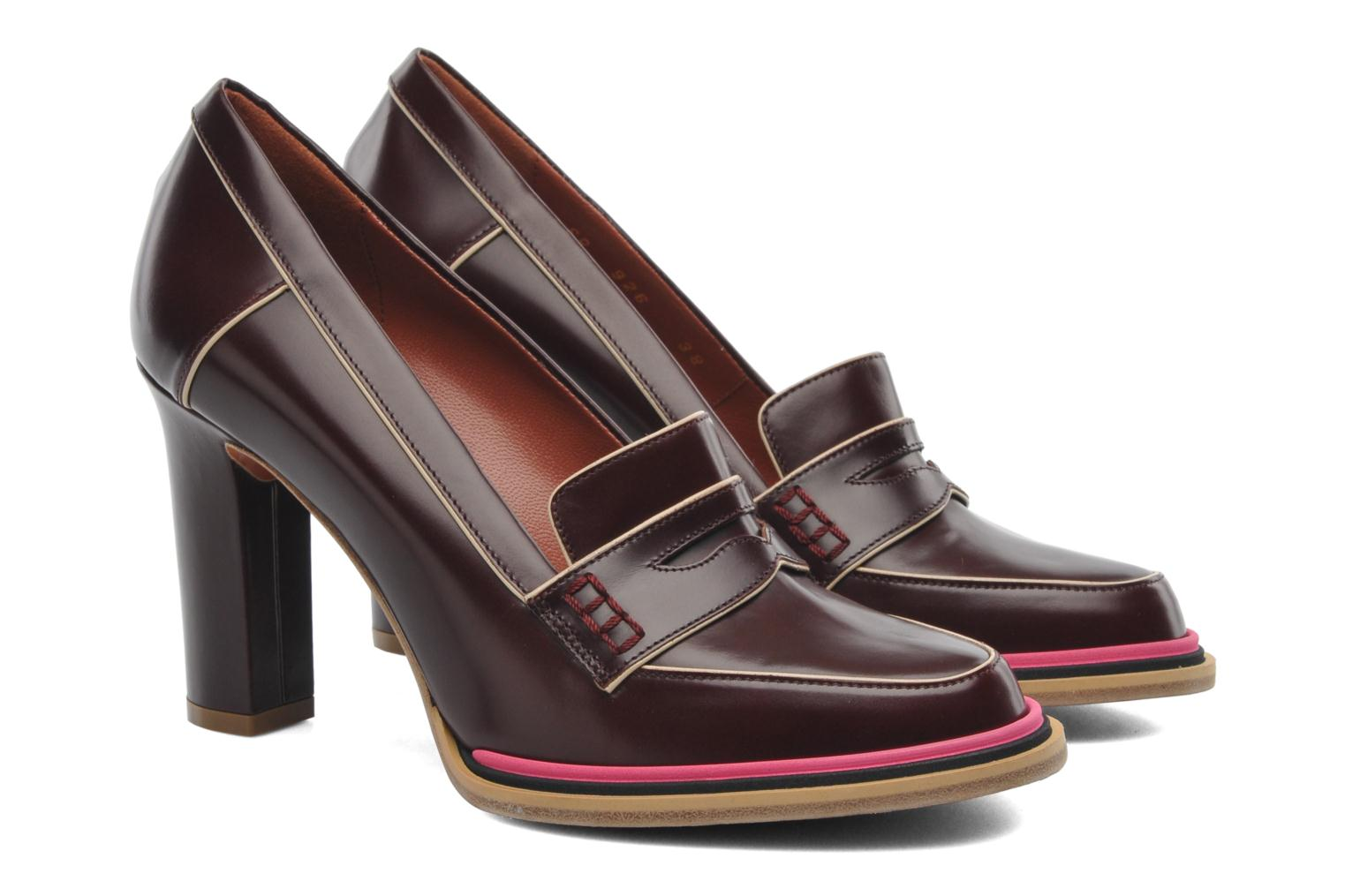 Mocassins Sonia Rykiel Jane Marron vue 3/4