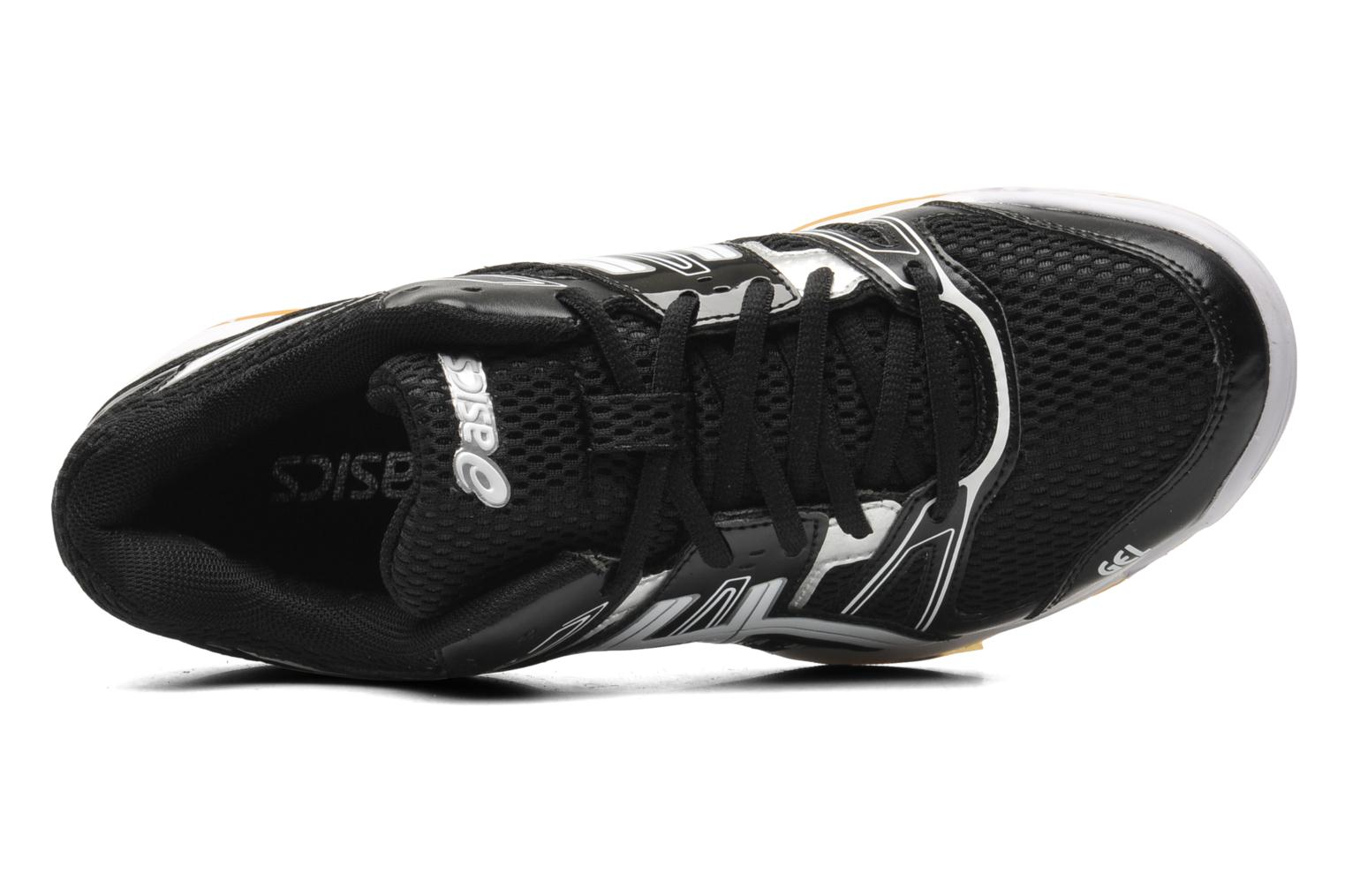 Sport shoes Asics Gel-Rocket 7 Black view from the left