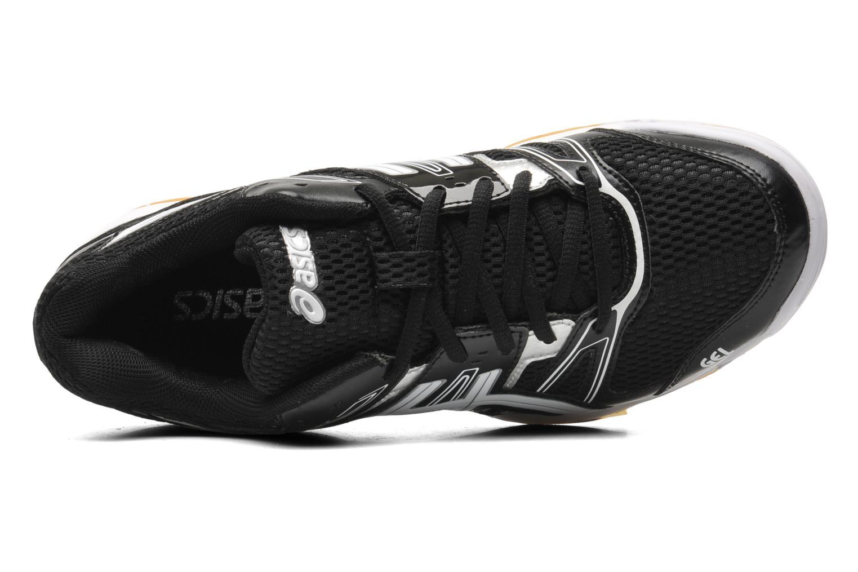 Sportschuhe Asics Gel-Rocket 7 schwarz ansicht von links