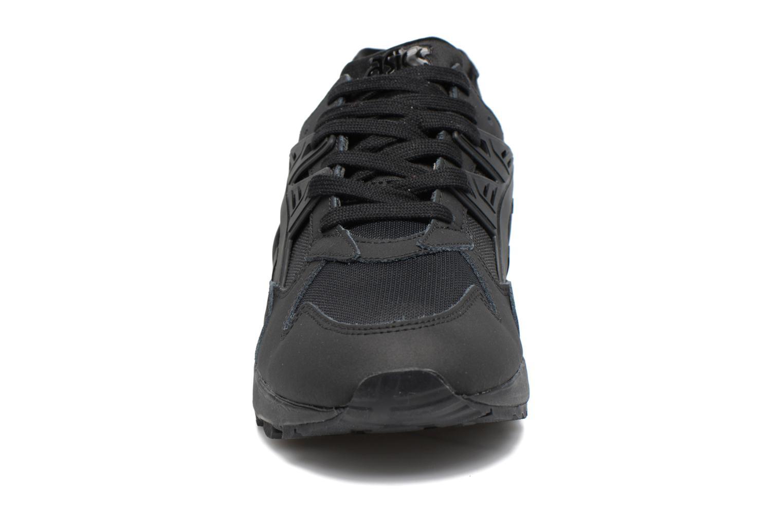 Baskets Asics Gel-Kayano Trainer Noir vue portées chaussures