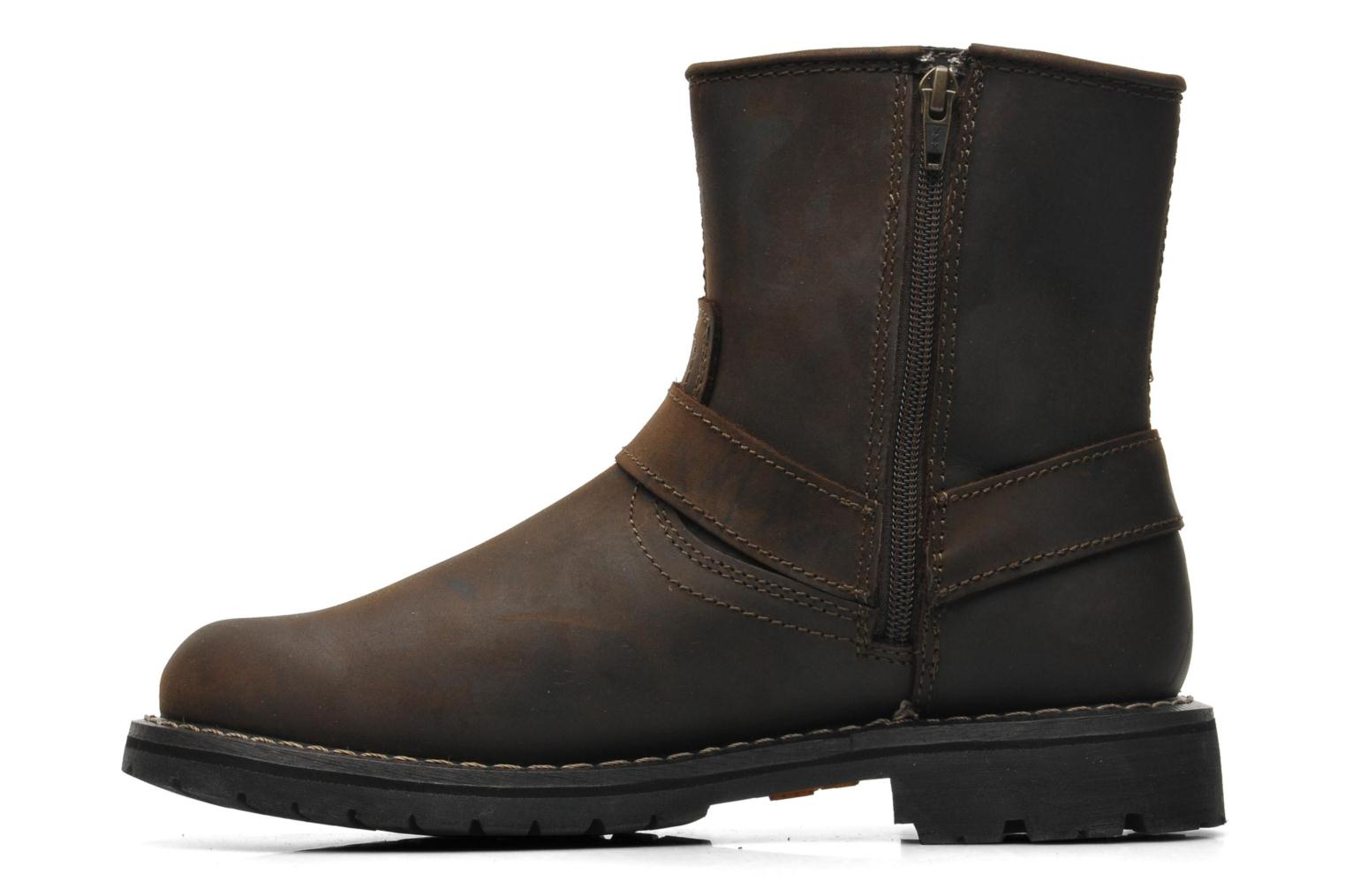 Bottines et boots Dockers Jameson Marron vue face