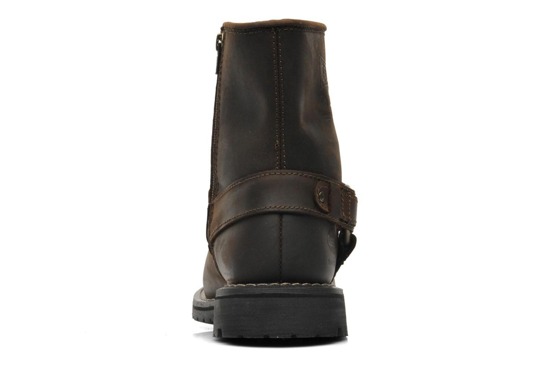 Stiefeletten & Boots Dockers Jameson braun ansicht von rechts