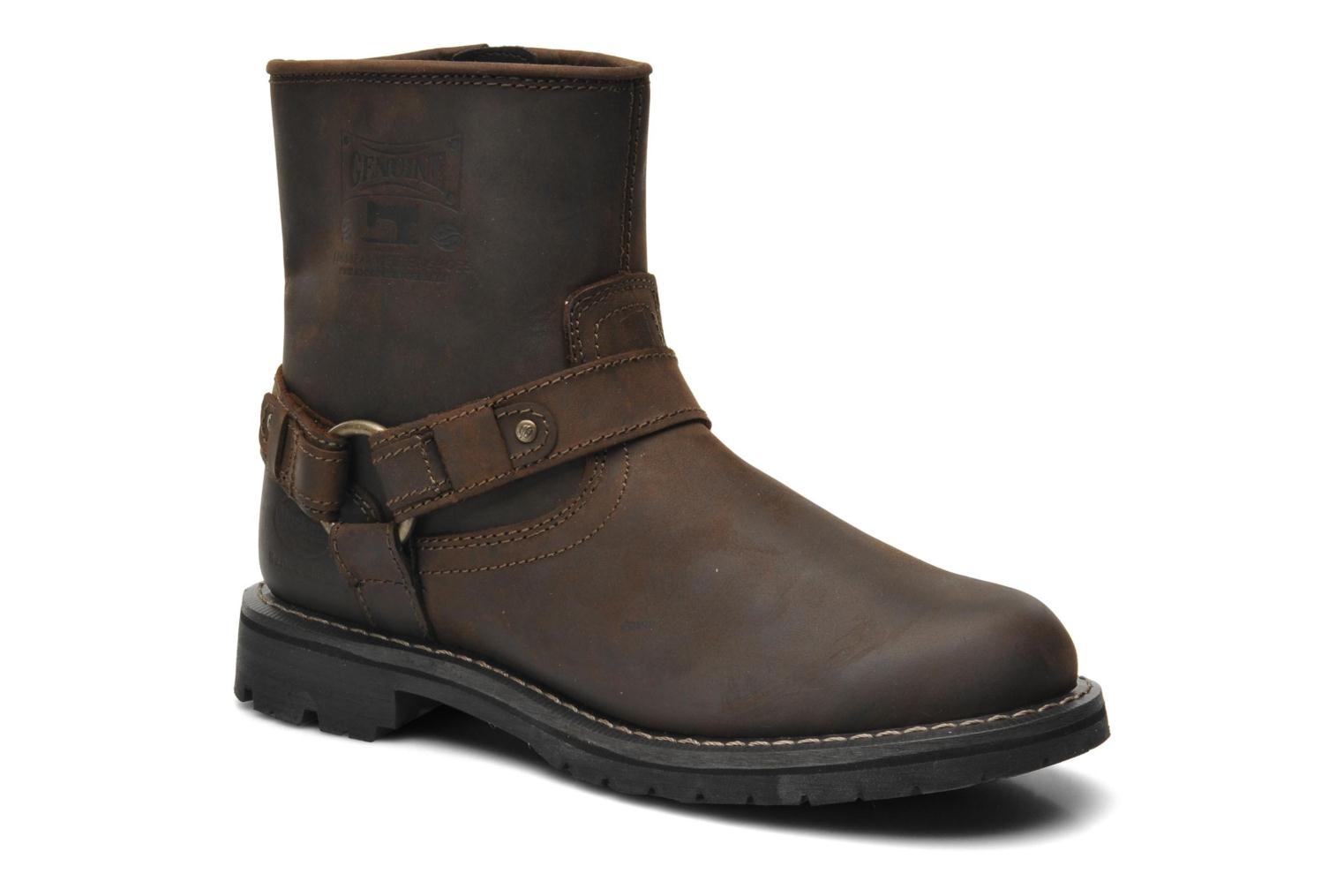 Bottines et boots Dockers Jameson Marron vue détail/paire