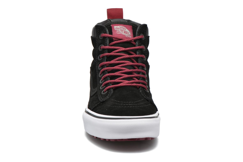 Sneaker Vans SK8-Hi MTE schwarz schuhe getragen
