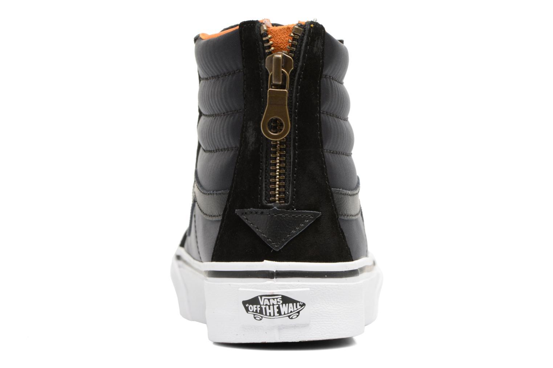 SK8-Hi Slim Zip Black/true white