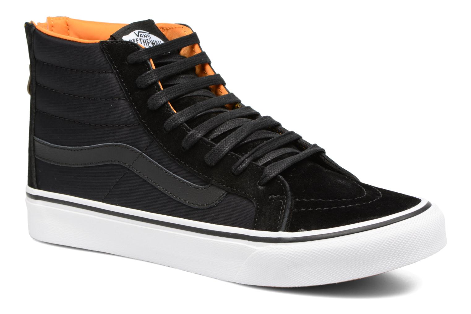 SK8-Hi Slim Zip Black/true white