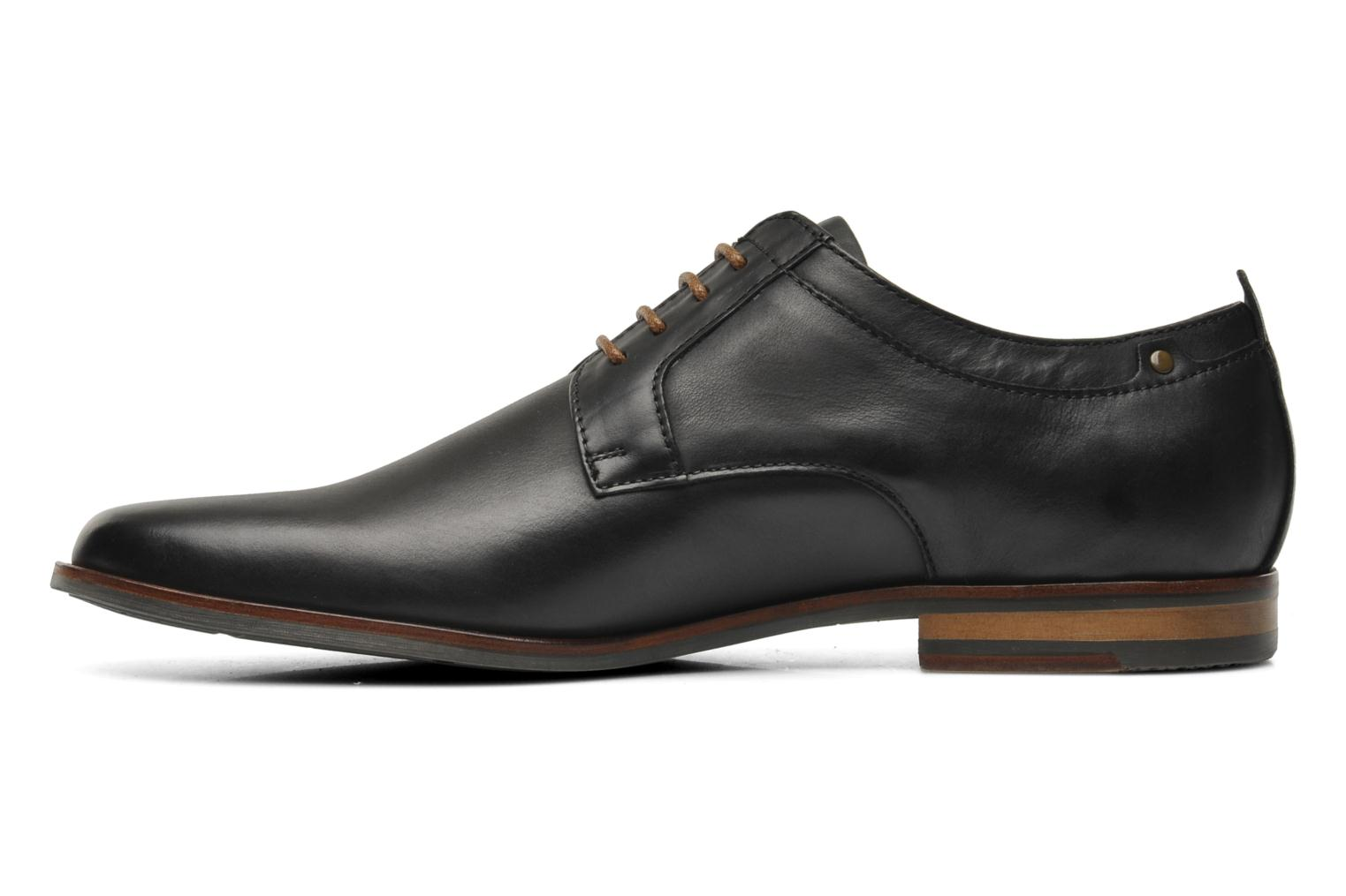Lace-up shoes Schmoove Dirty Dandy Station Black front view