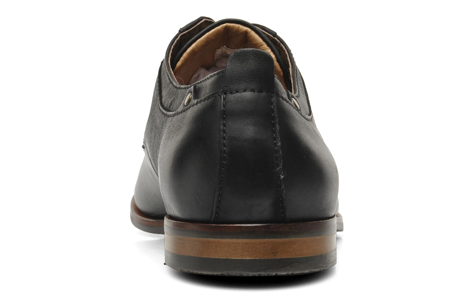 Lace-up shoes Schmoove Dirty Dandy Station Black view from the right