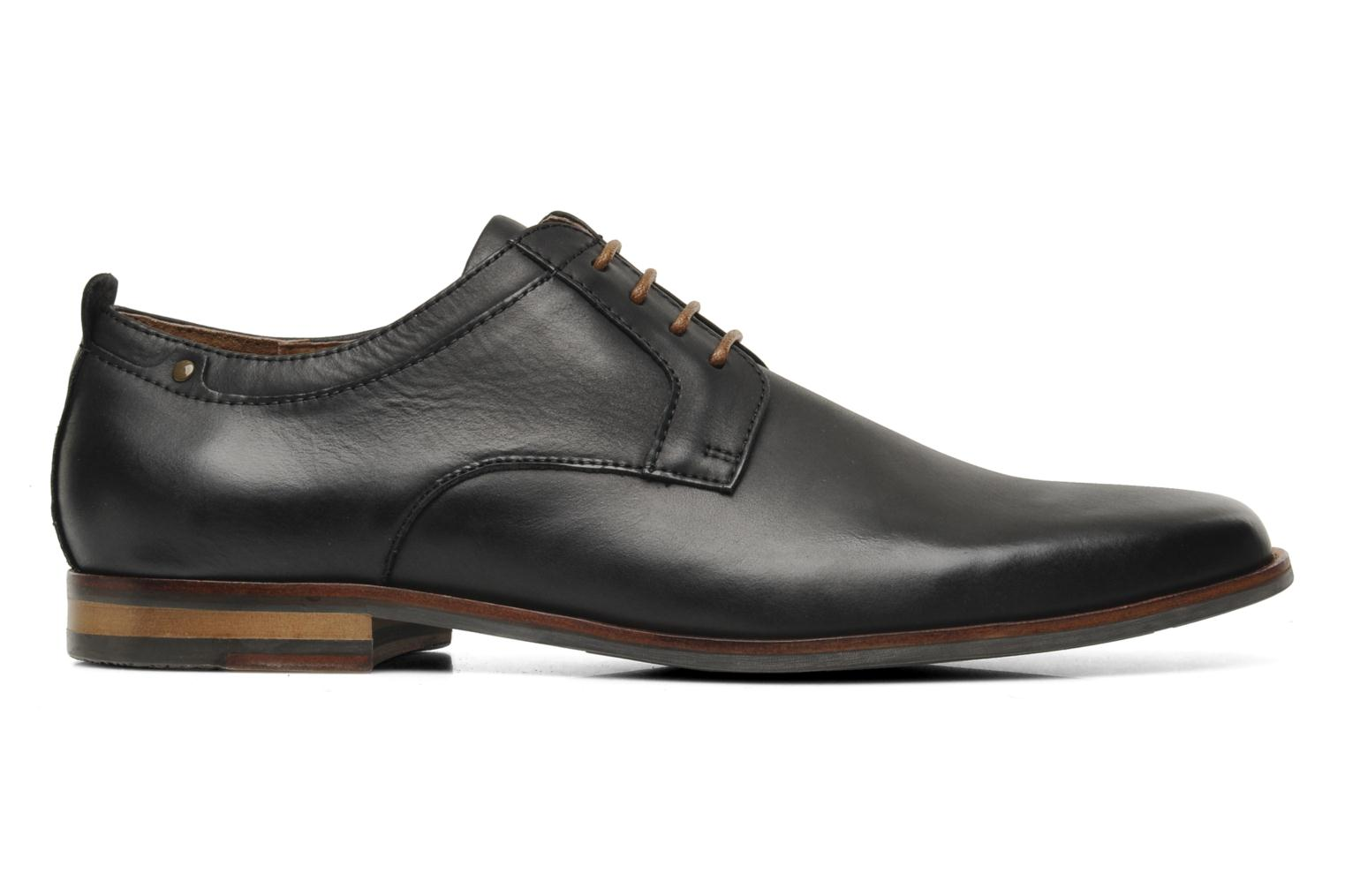 Lace-up shoes Schmoove Dirty Dandy Station Black back view
