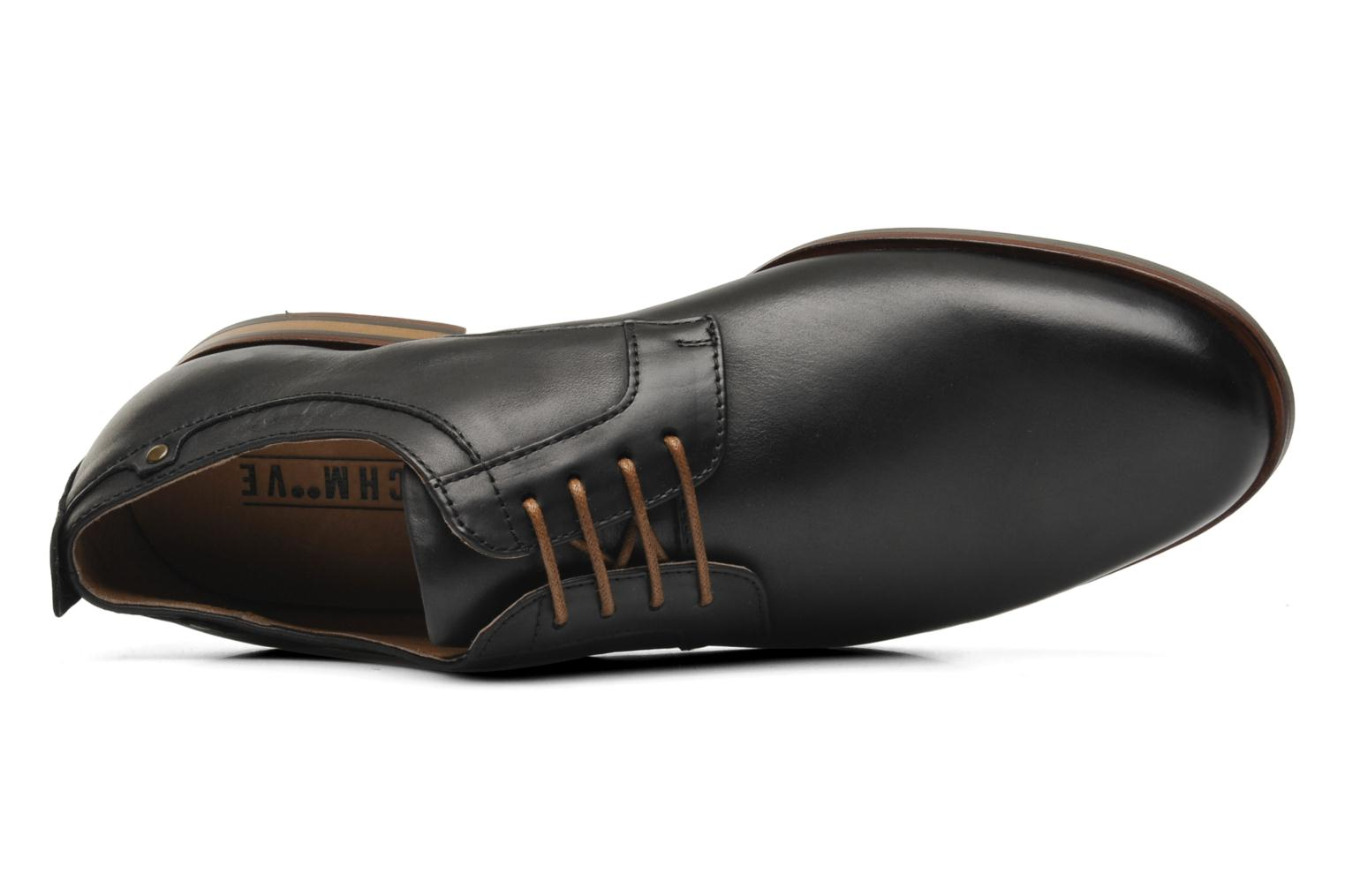 Lace-up shoes Schmoove Dirty Dandy Station Black view from the left