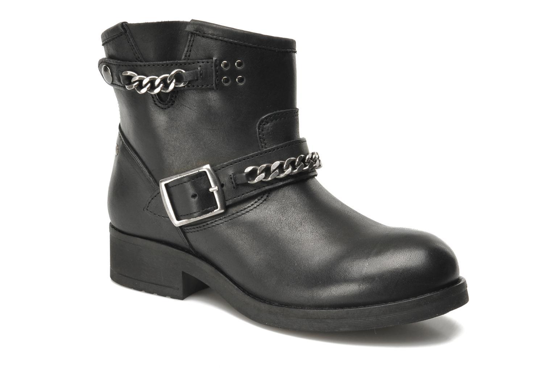 Boots en enkellaarsjes Koah Tammy Zwart detail