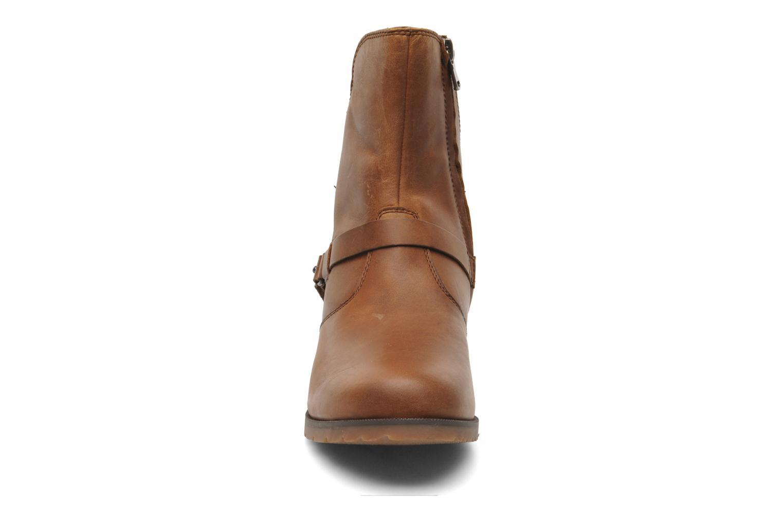 Bottines et boots Teva De La Vina Low W Marron vue portées chaussures