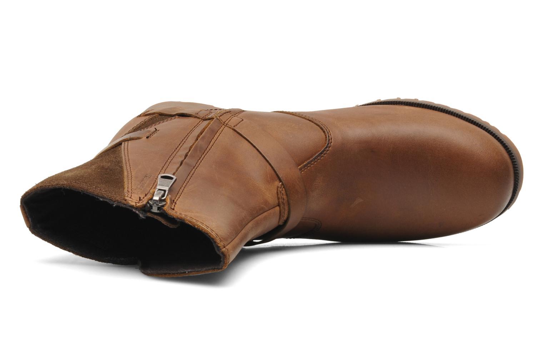Bottines et boots Teva De La Vina Low W Marron vue gauche