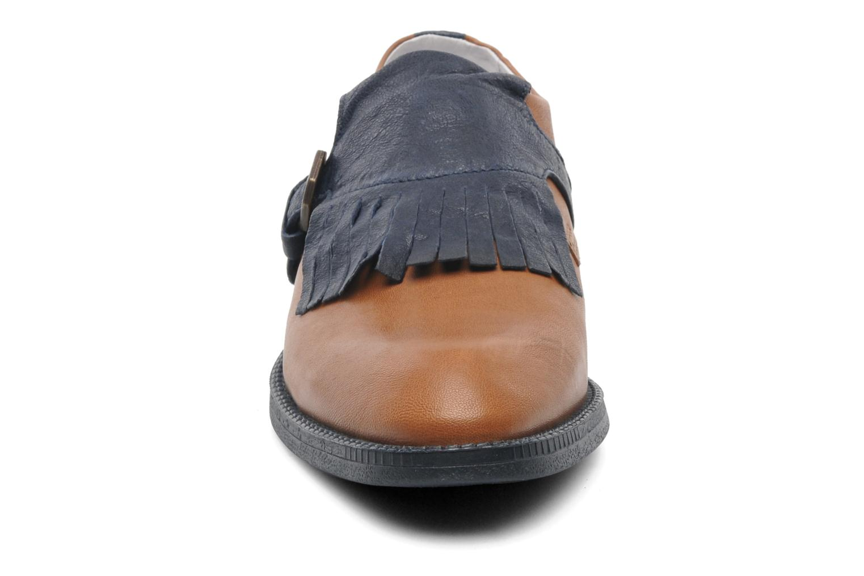 Mocassins Swear Vienetta 18 Marron vue portées chaussures