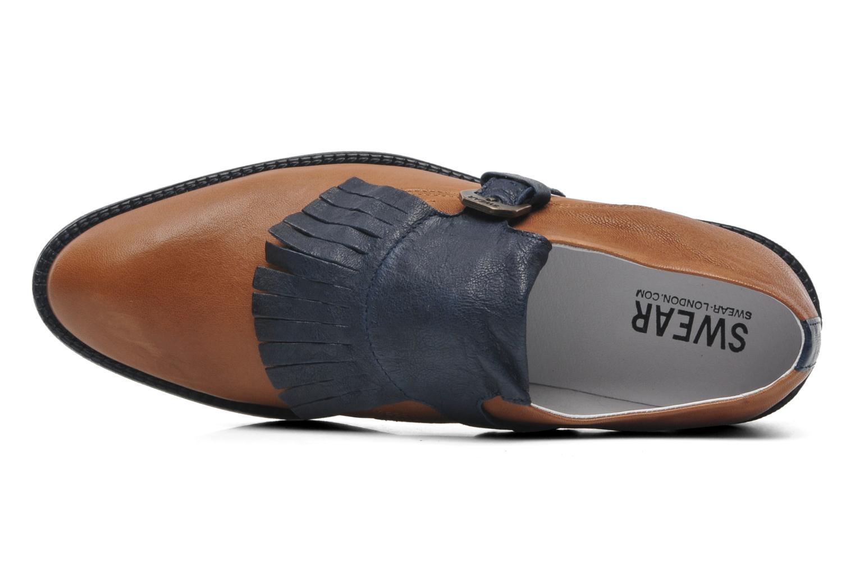 Vienetta 18 Tan/Navy leather