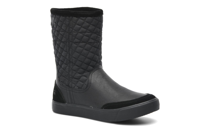 Plateau Ripley Mix Black Leather & Textille