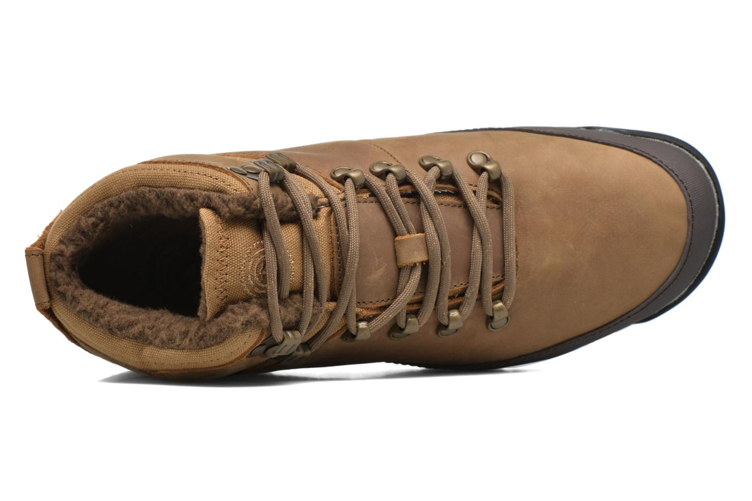 Veterschoenen Element Donnelly Bruin links