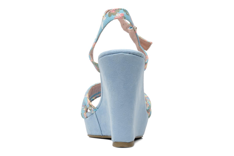 Sandalen Refresh Renda Blauw rechts