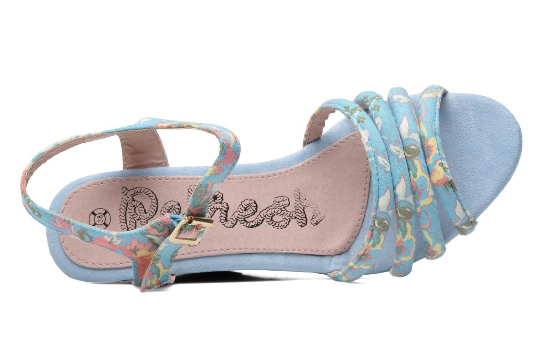 Sandalen Refresh Renda Blauw links