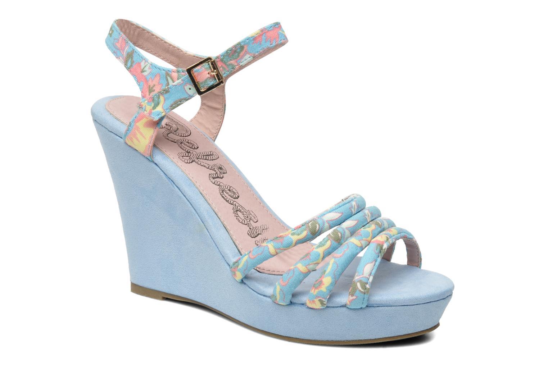 Sandalen Refresh Renda Blauw detail